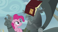 Pinkie -It's sad what happened to your town, King- S5E8
