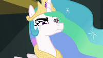 Princess Celestia looking annoyed EGFF