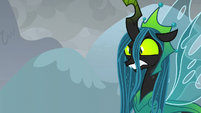 Queen Chrysalis getting very annoyed S9E25