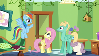 Rainbow -now that you've accomplished this- S6E11