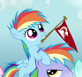 Rainbow Dash Filly S3E12