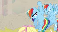 Rainbow Dash Shoryuken S02E26