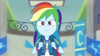 Rainbow Dash ready to run EGDS42