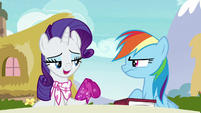 "Rarity ""I find those action sequences"" S8E17"