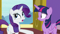"Rarity ""could have something to do with"" S9E19"