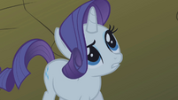 "Rarity ""without your beautiful mustache"" S1E02"