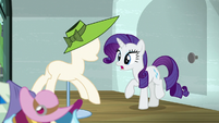 Rarity --shouldn't let this time go to waste-- S6E9