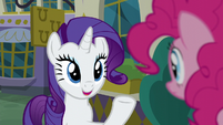 Rarity -Zesty grew up around fine dining- S6E12