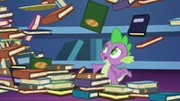 "Spike ""I just finished organizing those!"" S8E24"