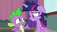 "Spike ""instead of focusing on Pinkie"" S9E16"