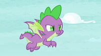 Spike flying with confidence S8E24