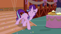 Starlight Glimmer watches ponies have fun S8E3
