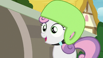 Sweetie Belle -you said you weren't good at anything- S7E6