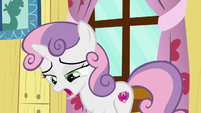 Sweetie Belle sighing S6E4