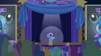 Trixie shrieking --it's a working title!-- S6E6
