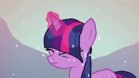 Twilight Sparkle wet from melting snow S3E05