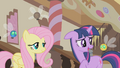 Twilight thinks the parasprite can be Spike's companion S1E10.png