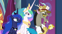 "Discord ""tall, dark, and handsome"" S9E1"