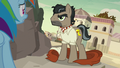 Dr. Caballeron reveals himself to Rainbow Dash S7E18.png