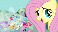"Fluttershy ""it's not your fault"" S4E16"
