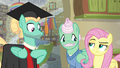 Fluttershy gives Zephyr the unamused eye again S6E11.png