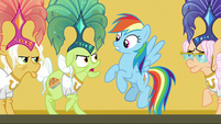 Granny Smith yelling at Rainbow Dash S8E5