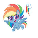 MLP Pony Life Rainbow Dash profile picture