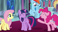 "Pinkie ""as long as it's with all of you!"" S9E2"