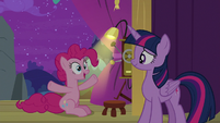 """Pinkie Pie """"the biggest, bestest, flashiest"""" S8E7"""