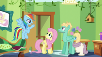 "Rainbow ""now that you've accomplished this"" S6E11"