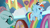 Rainbow Dash -okay, good practice!- S9E15
