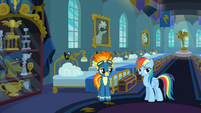 Rainbow Dash curbs her enthusiasm S6E7