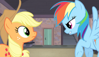 Rainbow and AJ -ready to fight- S5E01