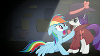 Rainbow voices her desire to participate in the aerial display S5E15