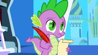 S01E01 Spike pisze list do księżniczki Celestii