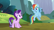 S06E06 Starlight i Rainbow Dash