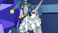 Star Swirl pondering on Pinkie Pie's words S7E26.png