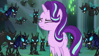 Thorax swallowing a lump in his throat S6E26