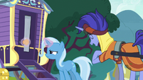 Trixie trying to reattach door knob S8E19