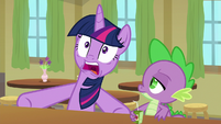 "Twilight Sparkle ""oh, no, bits!"" S9E5"
