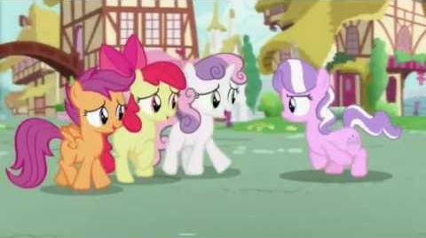 (swedish) my little pony diamond tiara 3