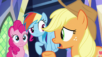 "Applejack ""we don't even know how long"" S8E15"