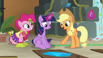 "Applejack ""you solved that triangley thing"" S7E2"