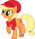 Applejack Hearth's Warming Eve Card Creator