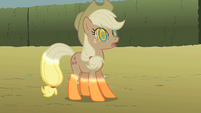 Applejack turns colorless S2E01
