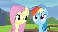 "Fluttershy ""Celestia and Luna"" S4E21"