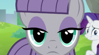 Maud Pie staring ahead at Pinkie S6E3