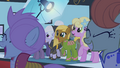 Ponies cheering for Fluttershy S1E20.png
