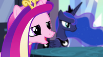 "Princess Cadance ""I know just the princess"" S4E25"