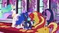 """Princess Celestia """"in the Canterlot Library"""" EGFF.png"""
